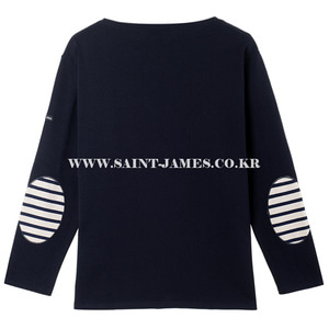 세인트제임스 웨쌍 무지 엘보패치 Navy/ SAINTJAMES OUESSANG Guildo U Elbow Patch Navy