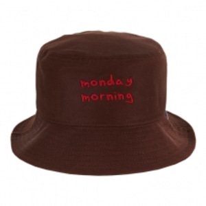 VARZAR/바잘 Monday morning bucket hat-브라운