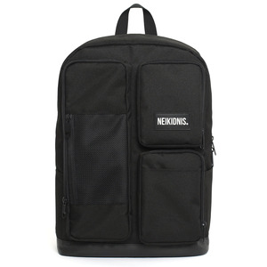 네이키드니스 MESH SQUARE BACKPACK / BLACK