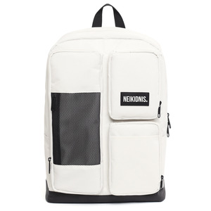 네이키드니스 MESH SQUARE BACKPACK / IVORY